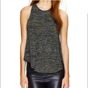 Wilfred Free Burnette Racer Back Tank XS Grey